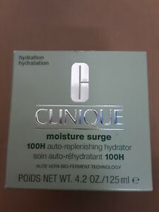 Clinique Moisture Surge 100H Auto-Rplenishing Hydrator 4.2 oz/ 125 mL ~ New in B