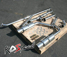 STAINLESS STEEL CATBACK CAT BACK EXHAUST SYSTEM 3000GT STEALTH TURBO TURBOBACK
