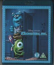 Monsters Inc. (2001) Disney Pixar Blu Ray & Bonus Disc Region Free