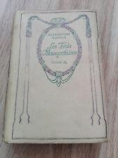 Beau livre ancien - Les Trois Mouquetaires - Alexandre Dumas - Tome II - Nelson