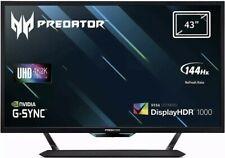 """NEW Acer Predator CG437KP 43"""" UHD Gaming Monitor Adaptive Sync 1ms DP HDMI USB."""
