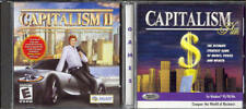 Capitalism Plus & Capitalism II (2 PC Game Set) create your own financial empire