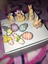 Nib Lenox Mini Tree Ornament 10 Piece Set $135 First Quality Celebrate Easter