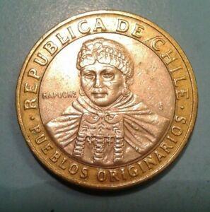 Chile 100 Pesos coin 2008