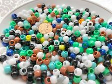 Kids Activity Kits 6mm Pony Beads Opaque Plastic Beads Multi Diy Craft 5 lb