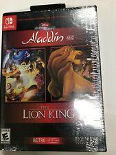 Disney Classic Games: Aladdin Lion King Retro Edition Clamshell Nintendo Switch