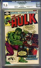 Incredible Hulk #271 CGC 9.6 NM+ WHITE Pages Universal CGC #1201494001