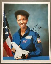 Mae C. Jemison signed 8x10 Nasa photo, First African American woman in space