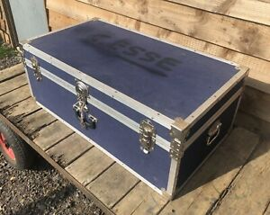 Large Travel Steamer Trunk Toy Box Coffee Table Classic