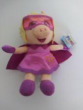 """Muppet Babies Super Fabulous Piggy Disney Junior 9"""" Plush Stuffed Just Play"""