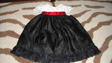 GYMBOREE 12-18 HOLIDAY TRADITIONS MERRY OCCASIONS DRESS BLACK RED WHITE