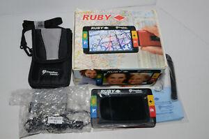 RUBY Electronic illuminated Magnifier (Freedom Scientific 880024-007) CIB