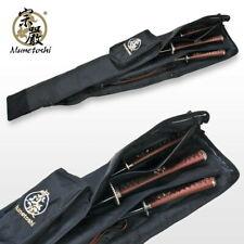 "50"" Long Munetoshi Dojo Sword Carrying Bag for Katana Iaito Bokken Shinai Bo Jo"