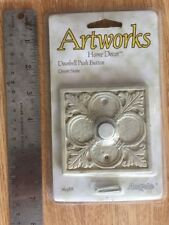 New ARTWORKS Angelo Doorbell Push button door bell Square DESERT STONE 76388