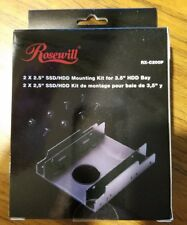 """*NEW Rosewill RX-C200P 2.5"""" SSD / HDD Plastic Mounting Kit for 3.5"""" Drive Bay"""