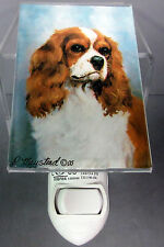 New Cavalier King Charles Spaniel Dog Night Light Dogs Pet Ruth Maystead