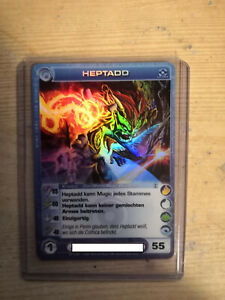 Chaotic tcg - HEPTADD - German -  MAX ENERGY- 1st edition 01