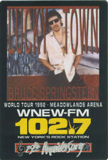 BRUCE SPRINGSTEEN 1992 LUCKY TOWN RADIO PROMO BACKSTAGE PASS WNEW