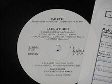 DIGNO GARCIA Y SUR CARIOS & LOS MAYAS -Latin.. LP Palette Promo Archiv-Copy mint