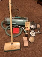 Rare find! Working Vintage Electrolux Automatic model G w/ Hose & Attachments