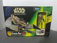 Speeder Bike with Rebel Pilot - Expanded Universe Star Wars VEHICLE Kenner 1997