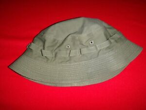 Vietnam War US Army SPECIAL FORCES Green OD Tropical Hat