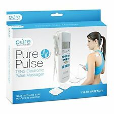 Purepulse Tens Electronic Pulse Massager - Treat Tired & Sore Muscles In Minutes