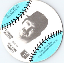 Thurman Munson 1977 MSA Burger Chef Disc In Excellent Condition