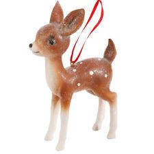 "Raz Imports 6.75"" Vintage Standing Deer Ornament"