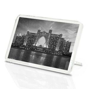 Classic Magnet With Stand - BW - Emirates Palace Dubai UAE  #42838