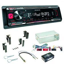 KMM-BT203 USB MP3 Autoradio Bluetooth FLAC Einbauset für Audi A4 B5 A6 4B C4 A8