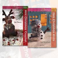 Christmas Crochet Hobbies & Craft 2 Books Collection Search Press Ltd
