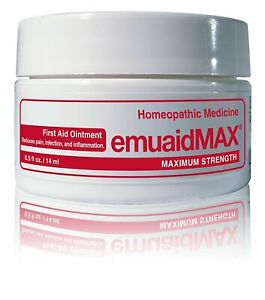 0.5oz 14ml EMUAID MAX EMUAIDMAX First Aid Anti-Fungal Ointment Natural FREE POST