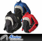 Enduro Jacket Black/Blue/Red - Motorcycle Motocross Offroad Trail Bike Off-road