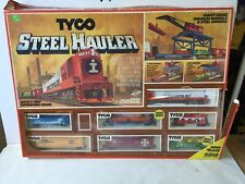 Vintage 1970's Tyco #7323 Steel Hauler Ho Scale Train Set New Old Stock