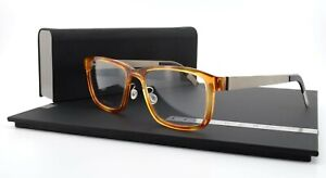 Lindberg Glasses Mod 1236 54-18 135 Col. AD19 Orange Acetanium Titan Denmark Men