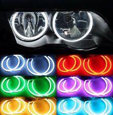 BMW E46 KIT COTTON RGB LED ANGEL EYES FAROS SIN XENON O PROYECTOR AROS LUCES LED