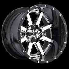 FUEL 2 Piece 20 x 10 Maverick Car Wheel Rim 5x5.5 5x150 Part # D26020007047