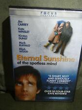 Eternal Sunshine of the Spotless Mind Dvd Jim Carry