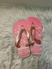 Havaianas Baby Brazil Logo flip flops 27/8 New Pink
