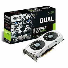 ASUS DUAL-GTX1060-O6G 6GB (GDDR5) Graphics Card