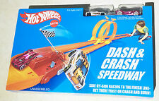 Hot Wheels Retro Dash and Crash Speedway Track Set Ages 4+ New Toy Play Boys Fun