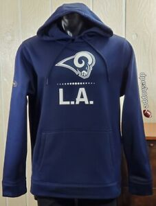 NFL Los Angeles Rams Under Armour Cold Gear Long Sleeve Pullover Hoodie Sz M