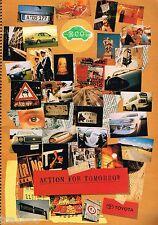 Toyota JAPANESE ECO Brochure:PRIUS,E-COM,FCEV,NC 250,FUNTIME,MR-S,HARRIER,HILUX,