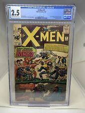 Marvel Comics X-Men #9 1965  CGC 2.5 1st Lucifer Avengers