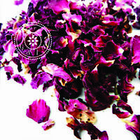 Dried Herbs: Herbal Tea. Red Rose Petals - Rosa gallica
