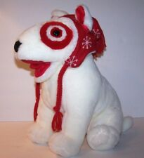 Target large Bullseye Plush Dog Puppy Collection The Inn Thing Christmas boggin