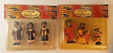 African American Holiday Miniatures -LOT of 6-Vintage Ethnic-Collectables-