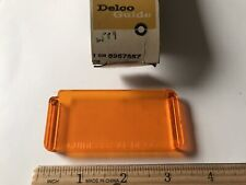 NOS GM 1966 Oldsmobile F85 Front Parking & Signal Lamp Amber Filter #5957557
