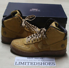 NIKE AIR FORCE 1 HI PREMIUM BOBBITO FLAX WHEAT MAC N CHEESE 318431-771 US 10.5